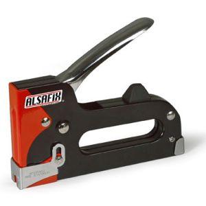 Capsator manual recomandat pentru fixare folie sau cabluri pe lemn Alsafix 10/14 M1