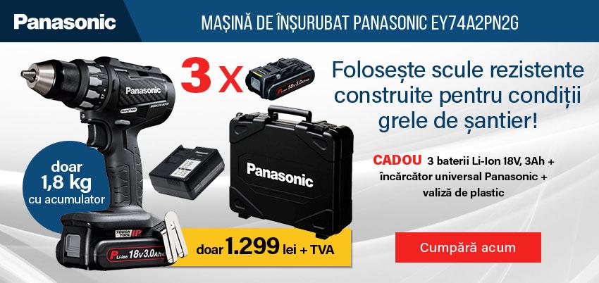 Mașina de înșurubat Panasonic EY74A2PN3G