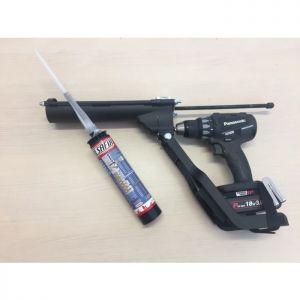 Pistol de injectie pentru masina de insurubat - tuburi 400 ml
